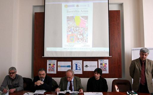 Conferinta Civic Media - Basarabia la Universitatea Bucuresti - Corneliu Vlad - Ilie Badescu - Prof Dinu C Giurescu - Victor Roncea - Rectorul