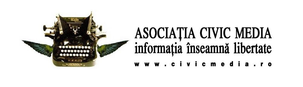 Banner Asociatia Civic Media - Informatia egal Libertate