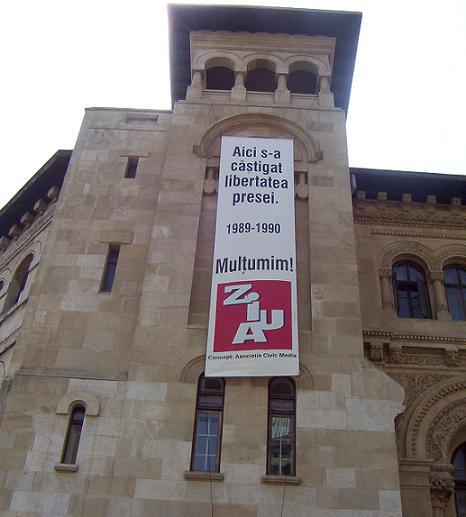 Libertatea Presei Piata Universitatii Civic Media