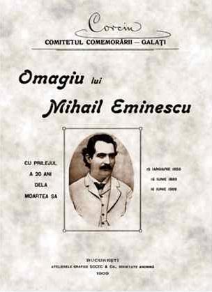 Omagiu lui Eminescu Corneliu Botez Civic Media