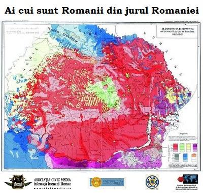 Romania Mare Civic Media Romanii din jurul Romaniei